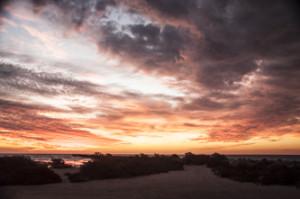 gladstone sunset