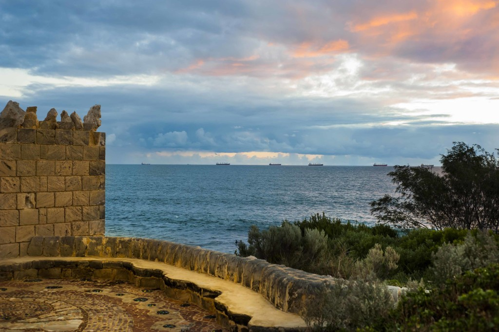 Watching the sunset over South Cottesloe is always a beautiful thing to do!