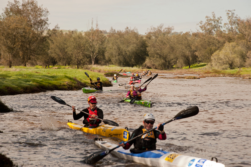 Our white water raft event, The Avon Descent is a annual traditional family event.