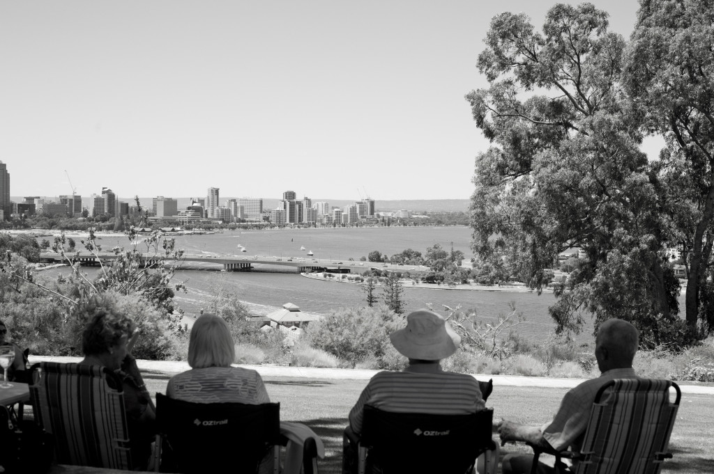 Enjoy family time. This photo is looking from Kings Park in Perth, Australia, my home town!