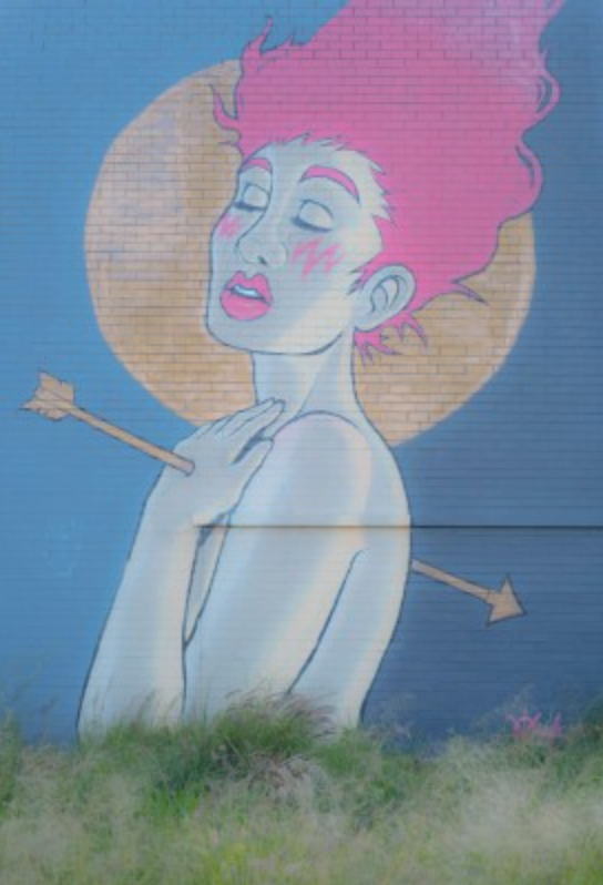 This is the piece of street art in Northbridge, Perth that inspired this blog post
