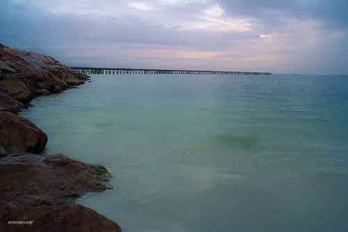 Esperance Jetty Sunrise on a cloudy March morning 2016