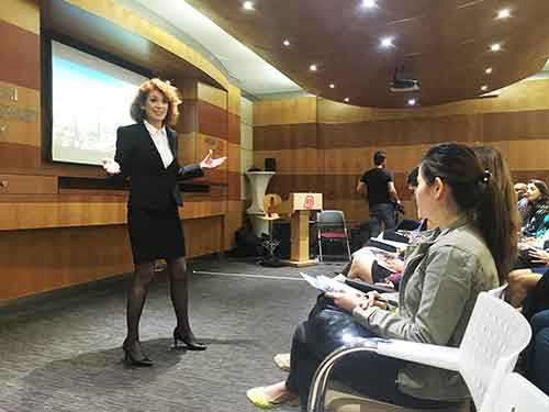 My Topic in Dubai was : A High Heels Paradox of Modern Values and Personal Needs