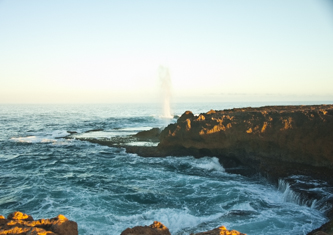 Quobba blowholes.. just North of Carnarvon